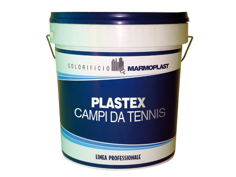 Water repellent water-based paint PLASTEX CAMPI DA TENNIS by Marmoplast