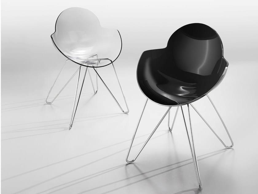 Cookie sedia in policarbonato by infiniti design studio zetass