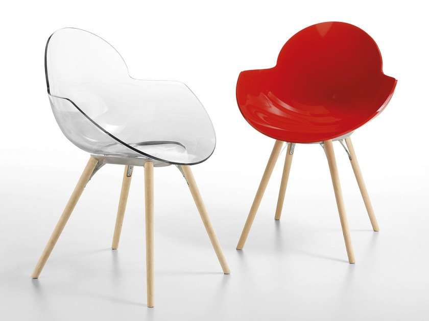 Polycarbonate chair COOKIE | Polycarbonate chair by Infiniti