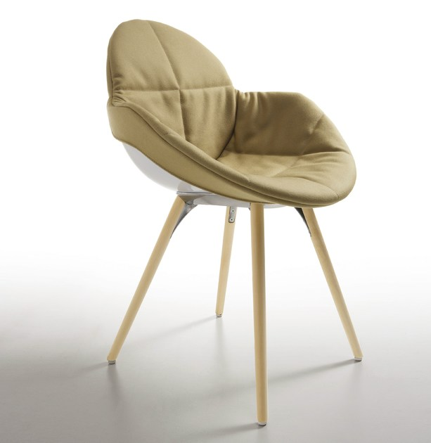 Polycarbonate chair COOKIE | Chair with removable cover by Infiniti