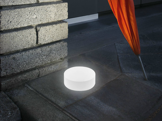 LED walkover light steplight CLAMP 60 SMALL IP67 by Lombardo