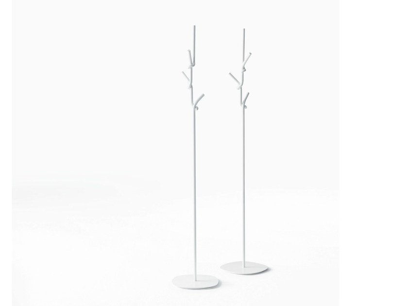 Metal coat stand SOFTER THAN STEEL | Coat rack by Desalto