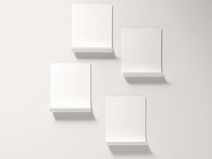 Plate wall shelf SOFTER THAN STEEL | Wall shelf by Desalto