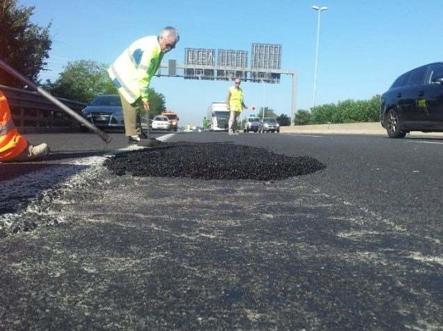 Bituminous conglomerate for asphalt ROADFIX by MAGE