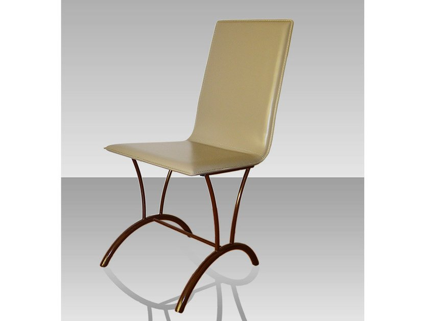 Leather chair OG102202 | Chair by Officine Gullo