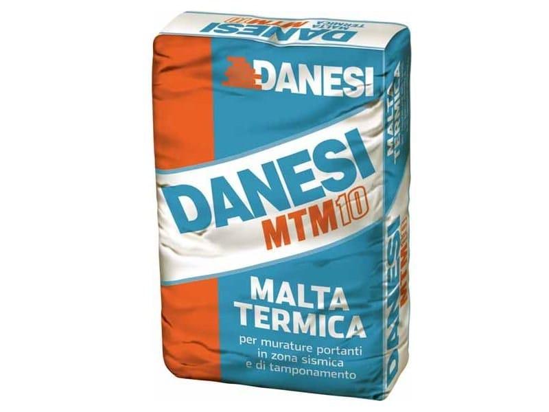 Thermo insulating mortar MTM10 by DANESI LATERIZI