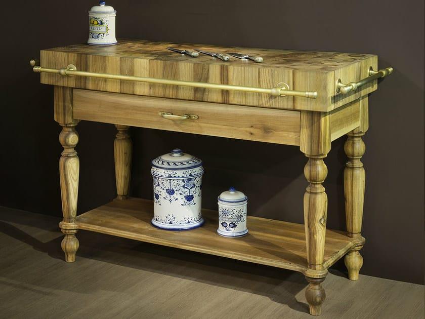 Wooden kitchen unit BILLOT by Officine Gullo