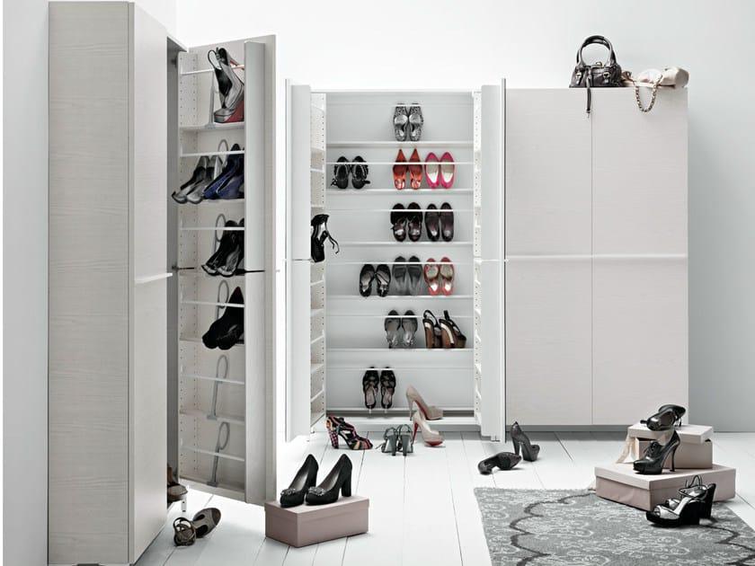 Shoe cabinet LINEAR COMP. 3 by Birex