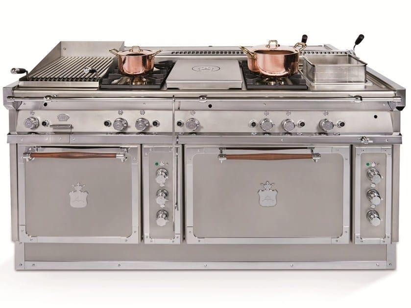 Cucina a libera installazione in acciaio OG188F | Cucina a libera ...