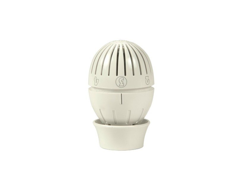 Thermostatic head with liquid sensor R470   Testa termostatica by Giacomini