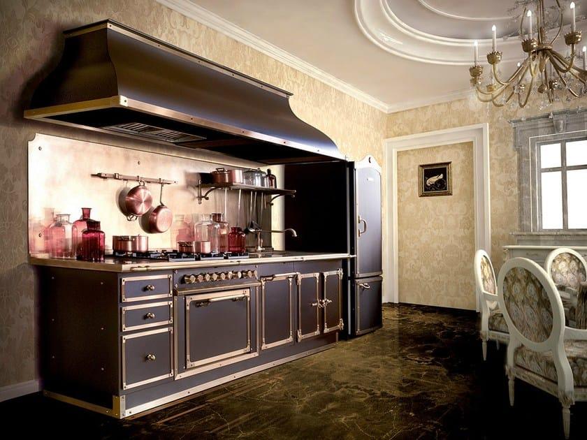 Cucina lineare su misura ARTIMINO PALACE - Officine Gullo