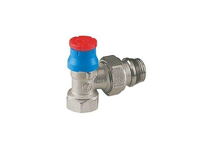 Valve and lockshield Thermostatic valve by Giacomini