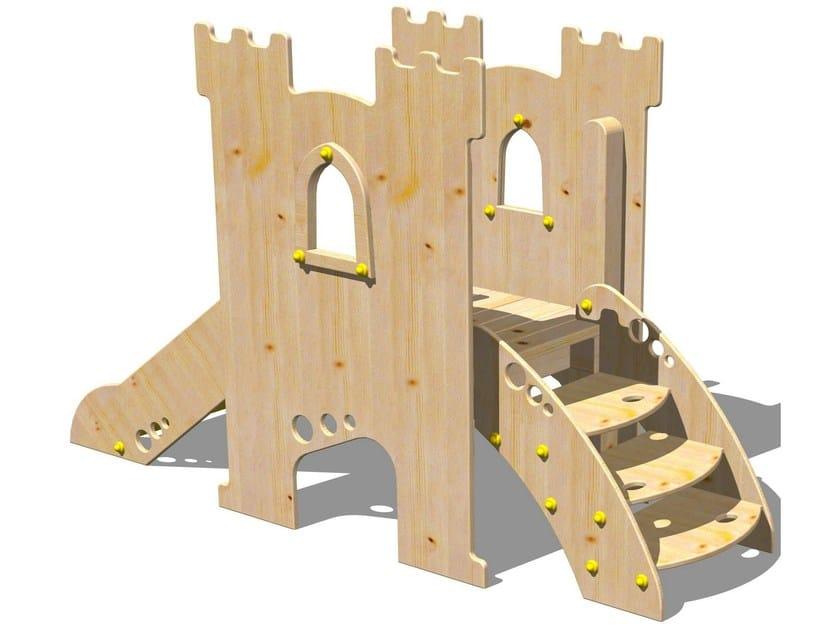 Wooden Slide TORRE PARSIFAL by Legnolandia