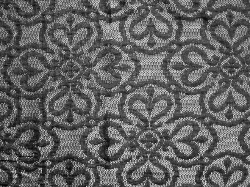 Cotton fabric with floral pattern NOTRE DAME BELLS 1 by KOHRO