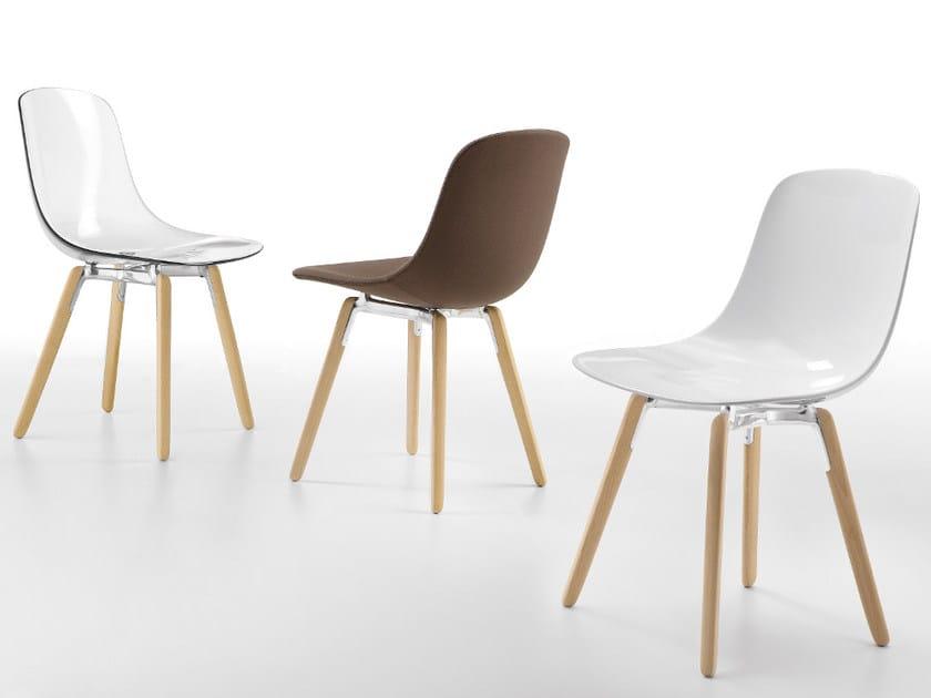 Plastic chair PURE LOOP | Chair by Infiniti