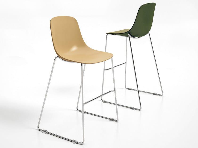 High sled base stool PURE LOOP BINUANCE | Stool by Infiniti