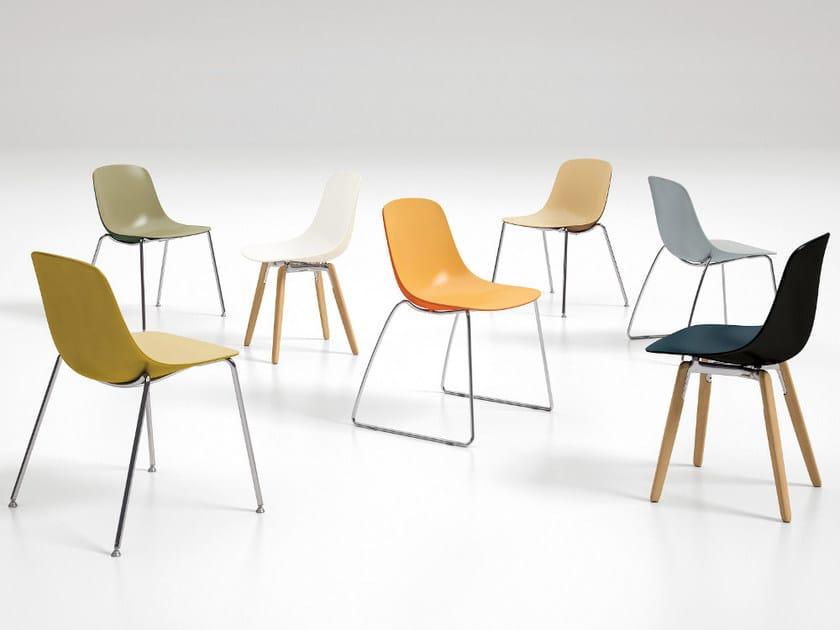Pure loop binuance chair by infiniti design claus breinholt for Sedia omp