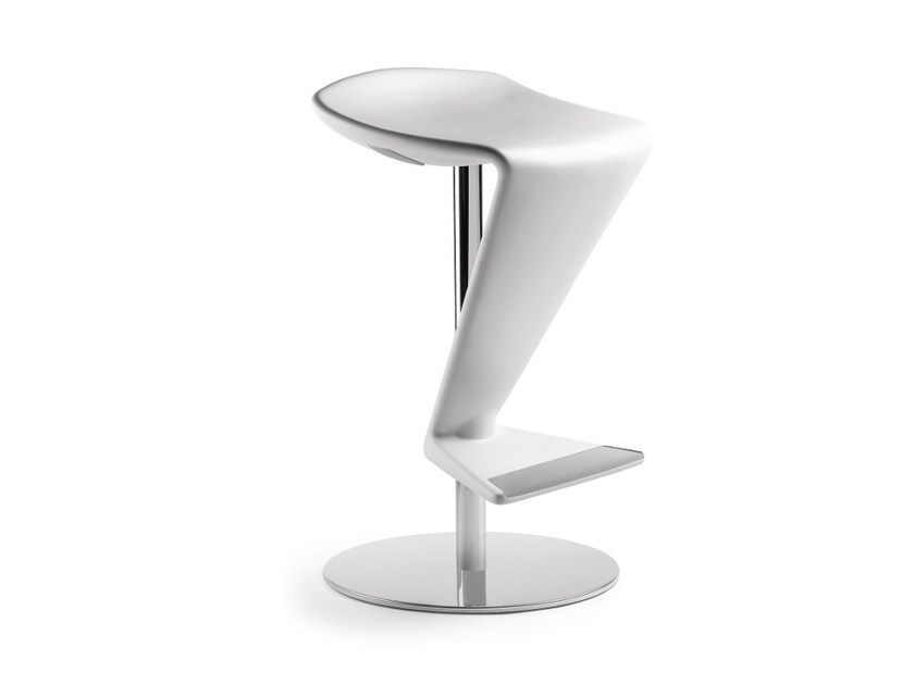 Swivel height-adjustable stool ZED by Infiniti
