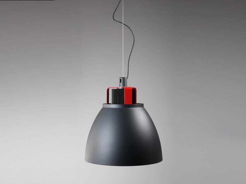 LED direct light aluminium pendant lamp CONDOR by Martinelli Luce