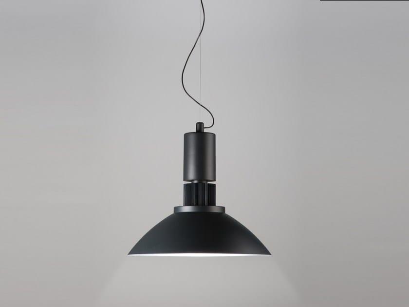 LED direct light aluminium pendant lamp AQUILA by Martinelli Luce
