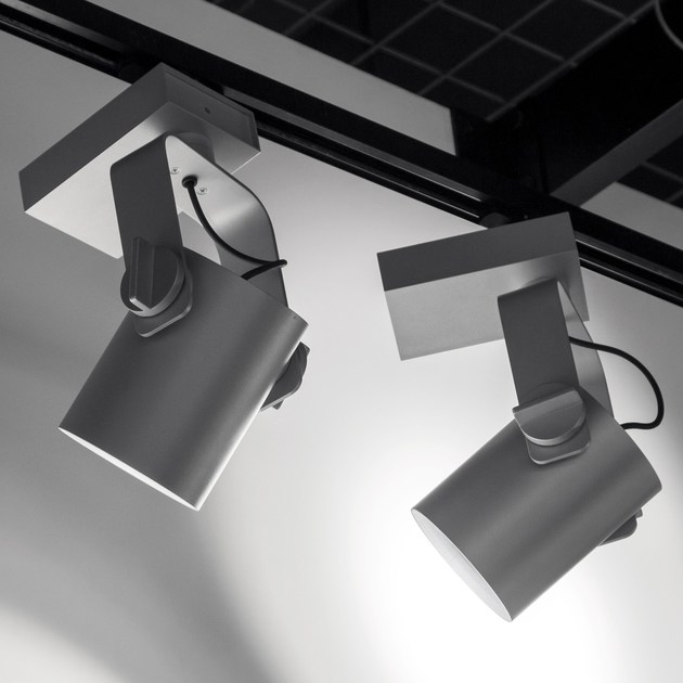 LED aluminium Track-Light R11 by Martinelli Luce