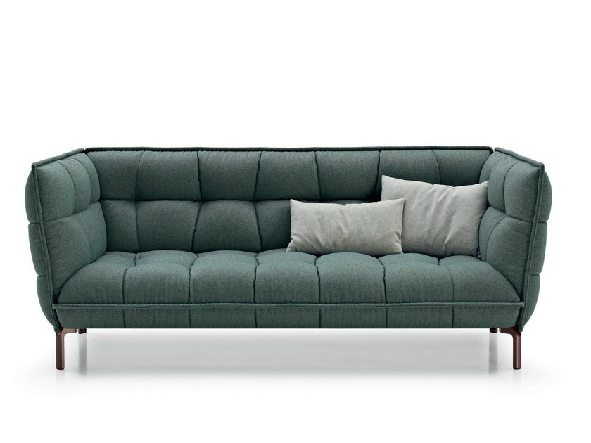 Sofa stoff  Kapitoniertes Sofa aus Stoff HUSK SOFA By B&B Italia Design ...