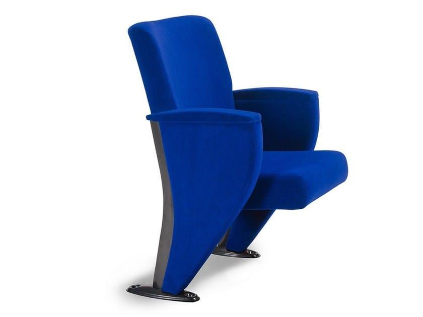 Velvet auditorium seats INFINITY | Auditorium seats by True Design