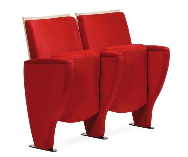Auditorium seats TEMPO | Auditorium seats by True Design