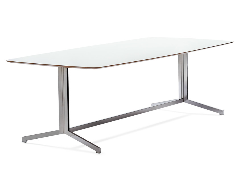 Rectangular meeting table MADISON CONFERENCE by Johanson Design