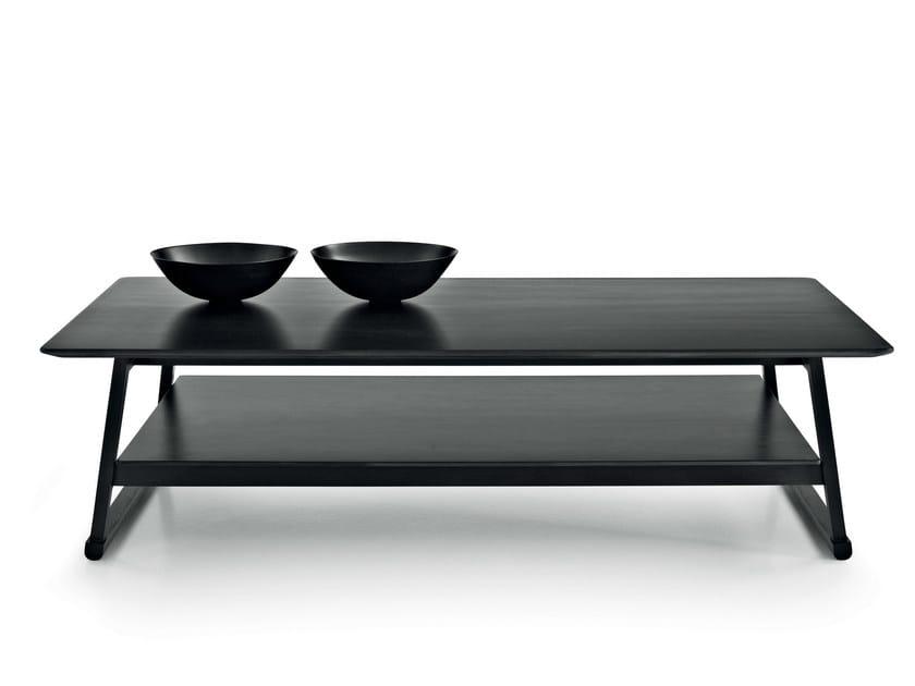 Rectangular oak coffee table RECIPIO '14 | Rectangular coffee table by Maxalto