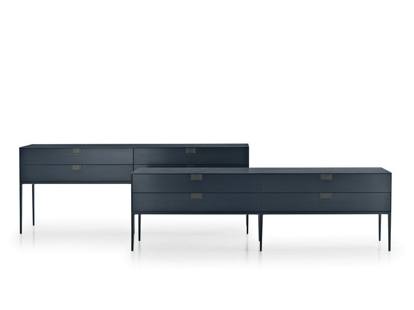 Lacquered wooden sideboard with drawers ALCOR | Sideboard with drawers by Maxalto