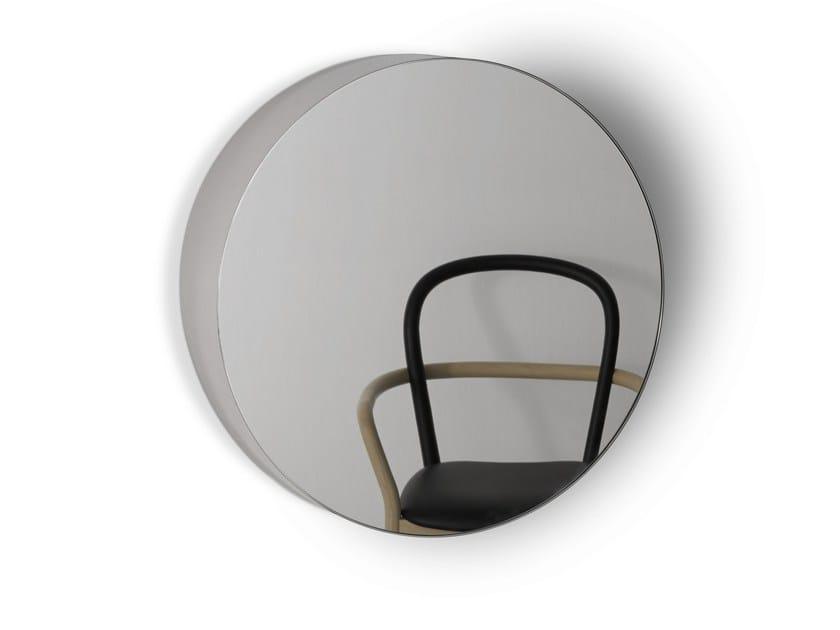 Wall-mounted framed mirror BELLEVUE by Porro