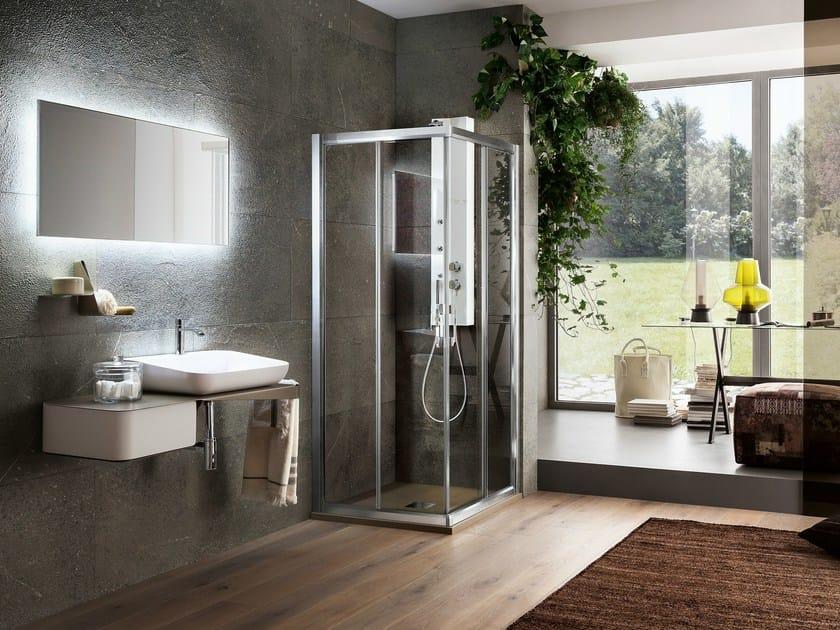 Corner shower cabin VIRGO | Corner shower cabin by ARBLU