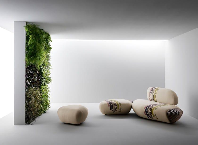 Sectional fabric sofa BOTAN Sofa by Passoni Nature