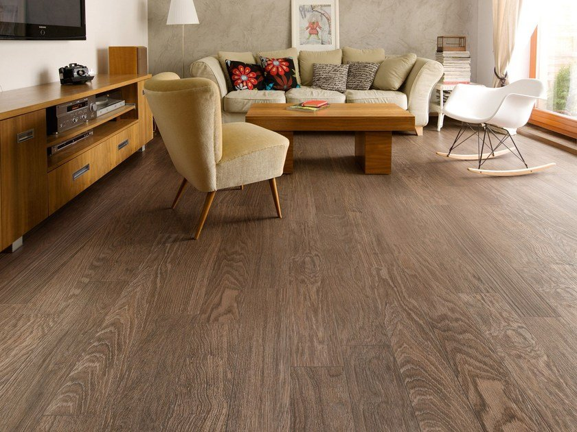 Porcelain stoneware flooring with wood effect HEJMO by CERAMICA SANT'AGOSTINO