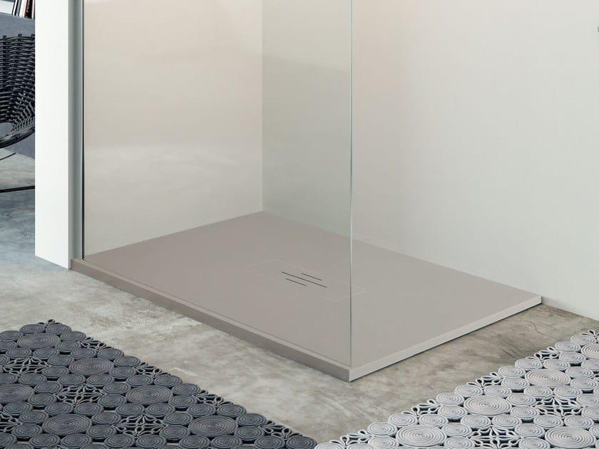 Custom shower tray QUASAR by Glass1989