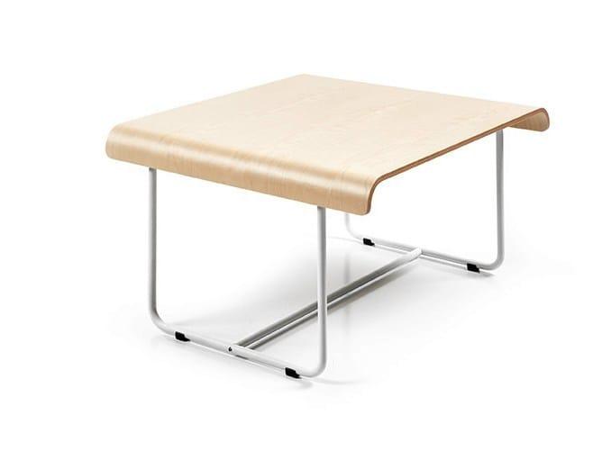 Rectangular multi-layer wood Kids table OTTAWA | Multi-layer wood Kids table by Made Design