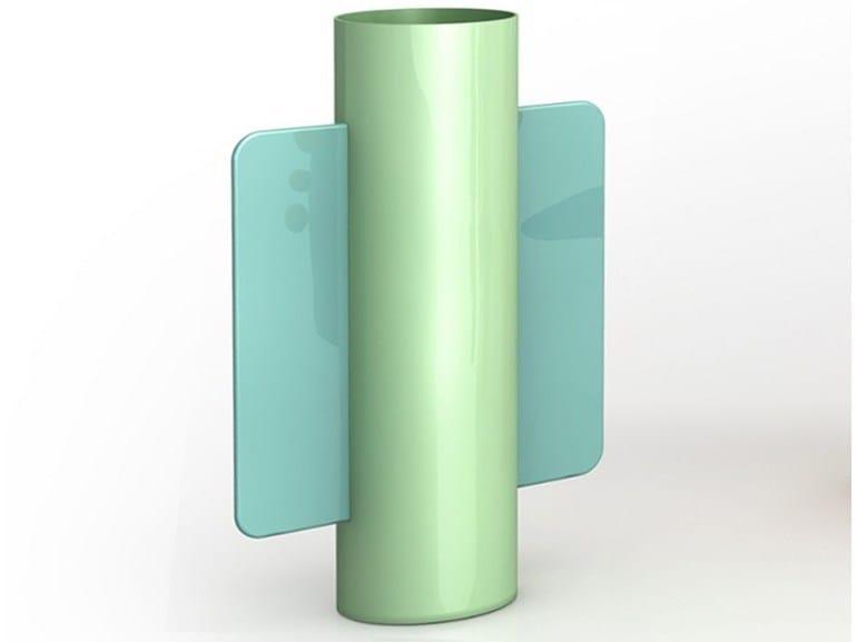 Aluminium vase LIPP by altreforme