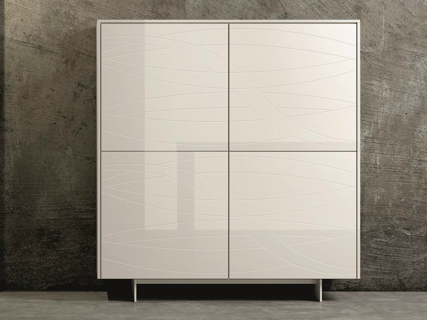 Lacquered highboard FIAMMA | Highboard by Dall'Agnese