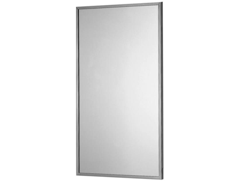 INOX   Specchio rettangolare