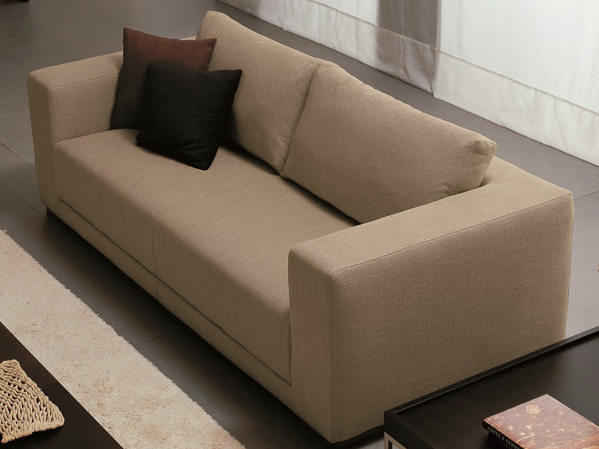 2 seater fabric sofa TEOREMA | 2 seater sofa by Dall'Agnese