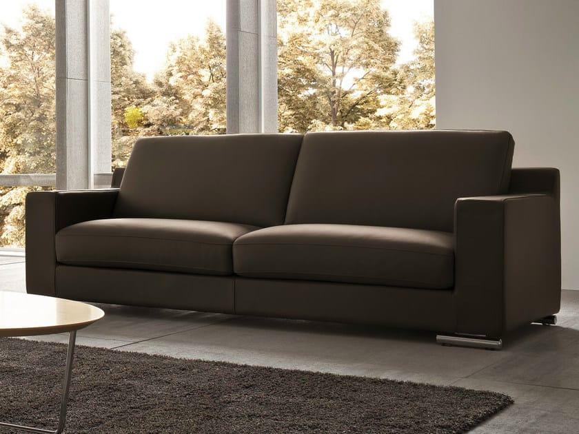 2 seater leather sofa OVIDIO   2 seater sofa by Dall'Agnese