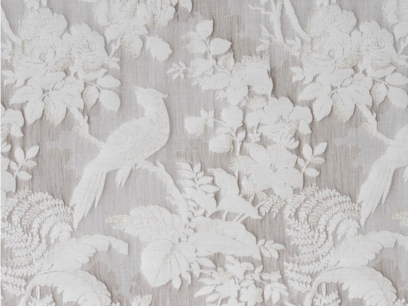 Silk and cotton fabric DARWIN PLAZA by KOHRO