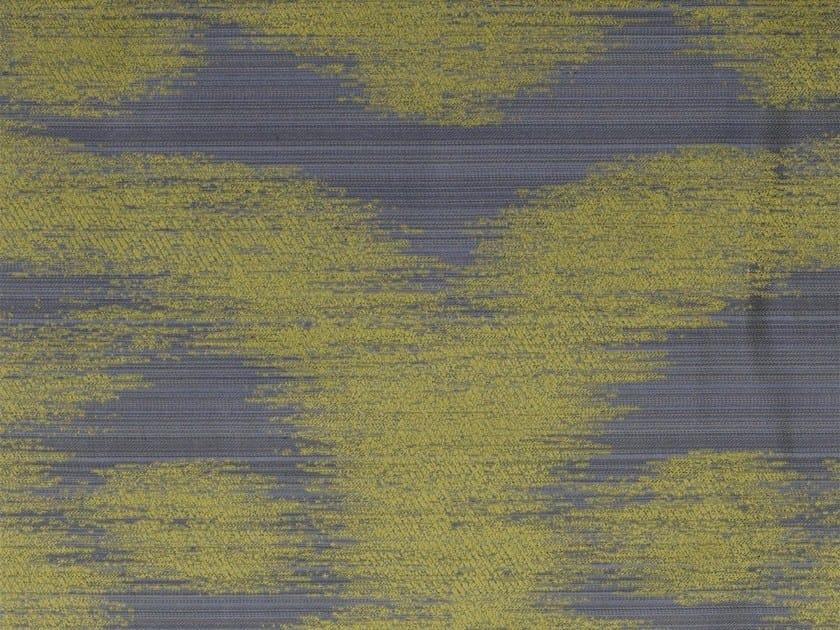 Silk and cotton fabric HAIREL FOG by KOHRO