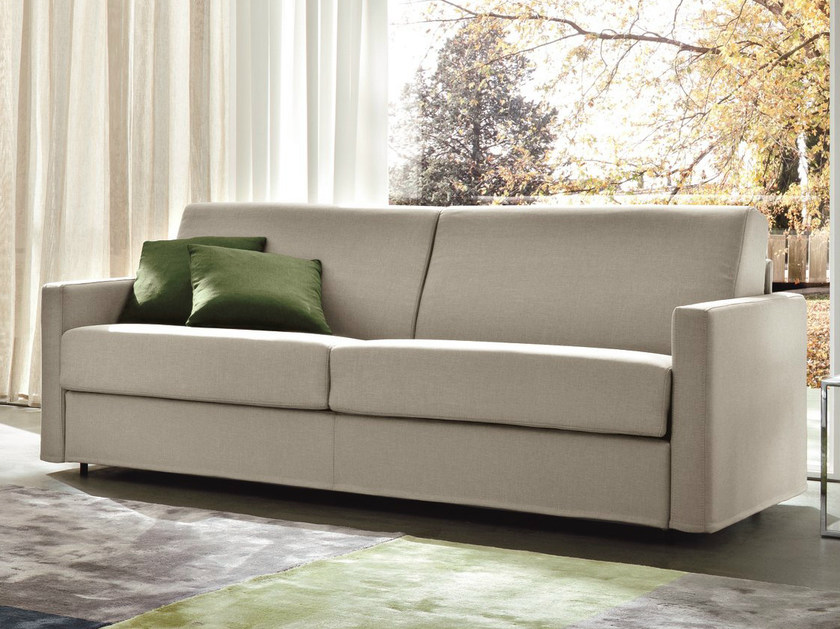 2 seater fabric sofa bed ZOOM MIDI by Dall'Agnese