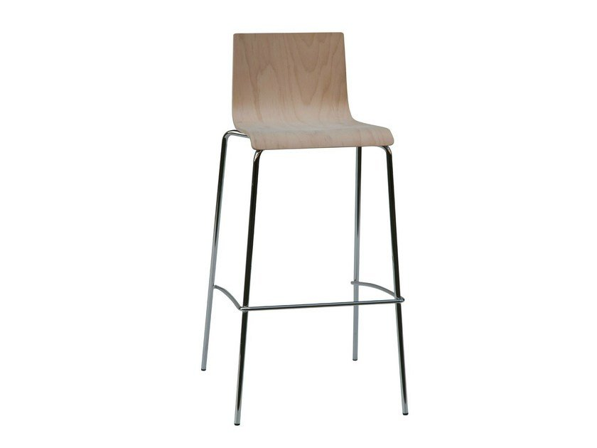Wooden chair SGAB-KING-V by Vela Arredamenti