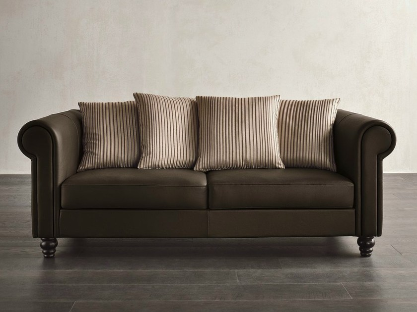 Deco 2 seater leather sofa DECÒ | 2 seater sofa by Dall'Agnese