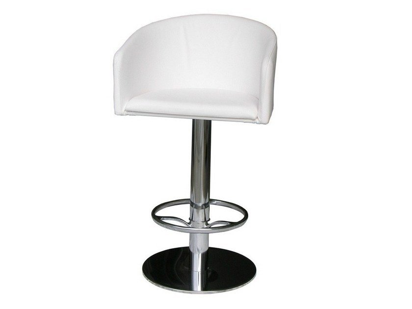 Swivel upholstered chair SGAB-CRONO by Vela Arredamenti