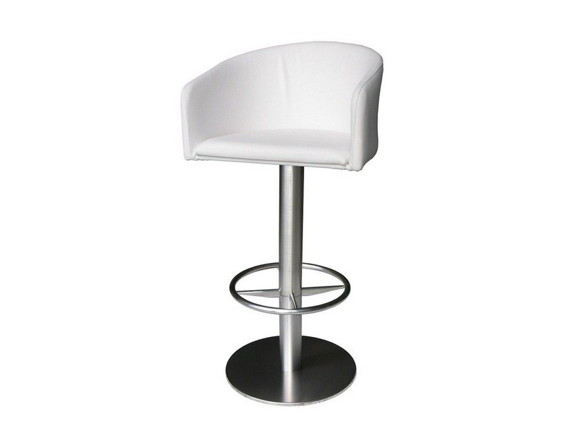 Swivel upholstered chair SGAB-ZEUS-1 by Vela Arredamenti