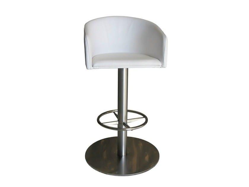 Swivel upholstered chair SGAB-ZEUS-2 by Vela Arredamenti